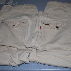 Levi's Khaki Cargo Pants